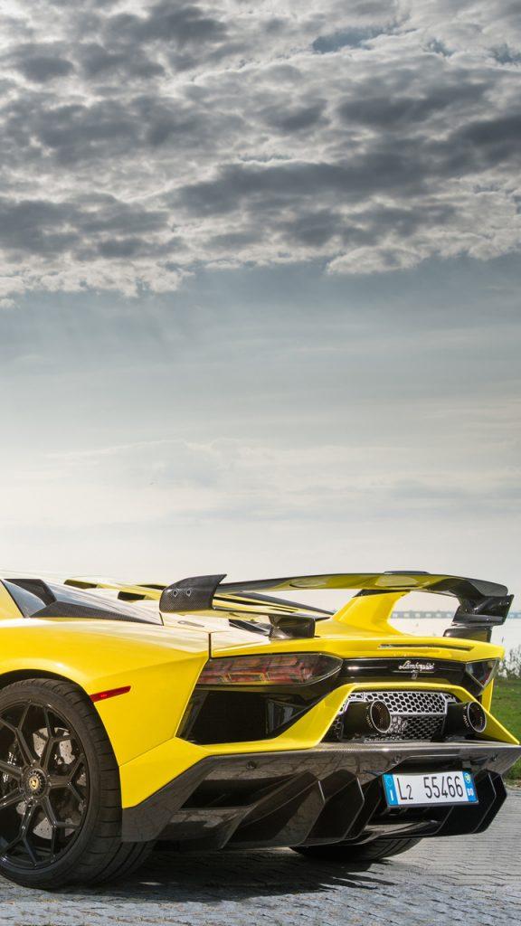 2019 lamborghini aventador svj rear xr 720x1280 1 576x1024 - Fondos de Pantalla de Lamborghini