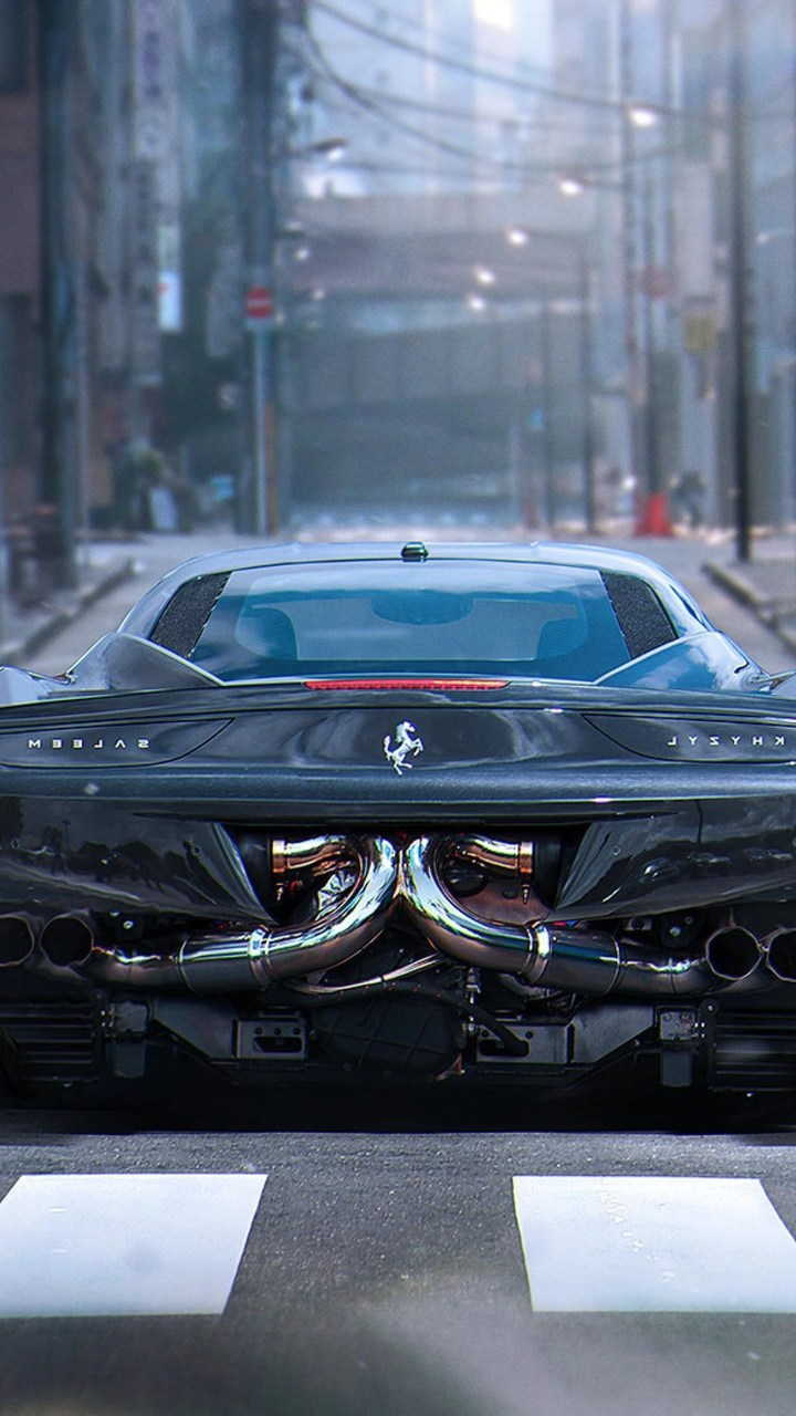 ferrari italia 458 2 720x1280 - Fondos de pantalla de Ferrari