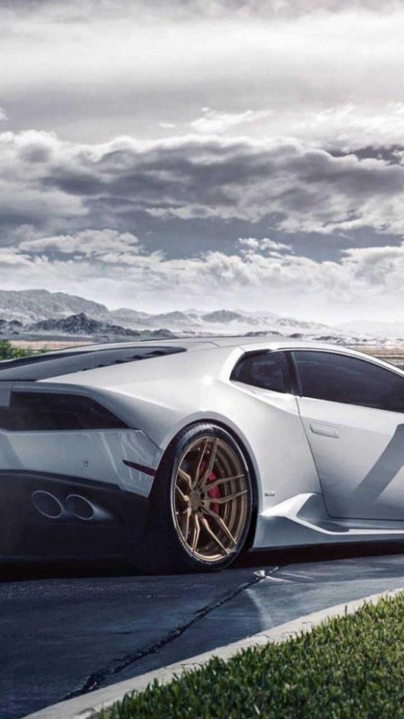 lamborghini huaracan white 720x1280 576x1024 - Fondos de Pantalla de Lamborghini