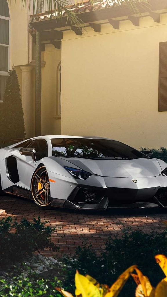 matte lamborghini aventador 720x1280 576x1024 - Fondos de Pantalla de Lamborghini