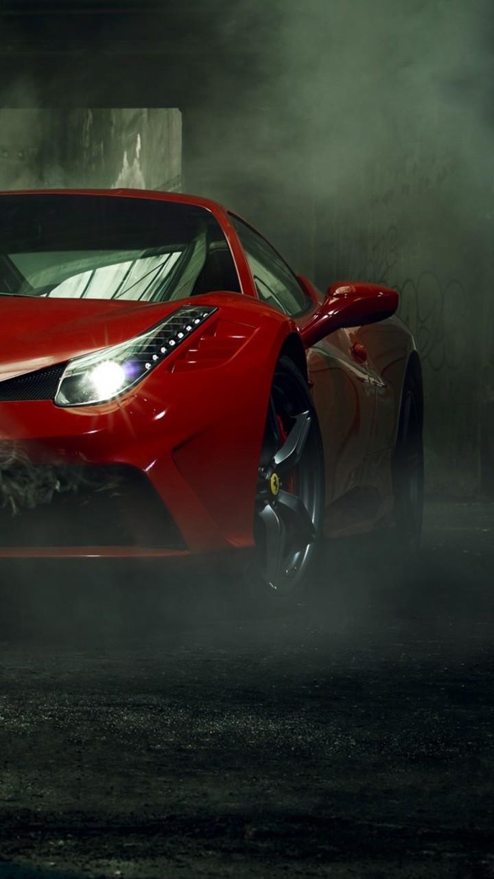 ferrari 458 front bd 720x1280 - Fondos de pantalla de Ferrari