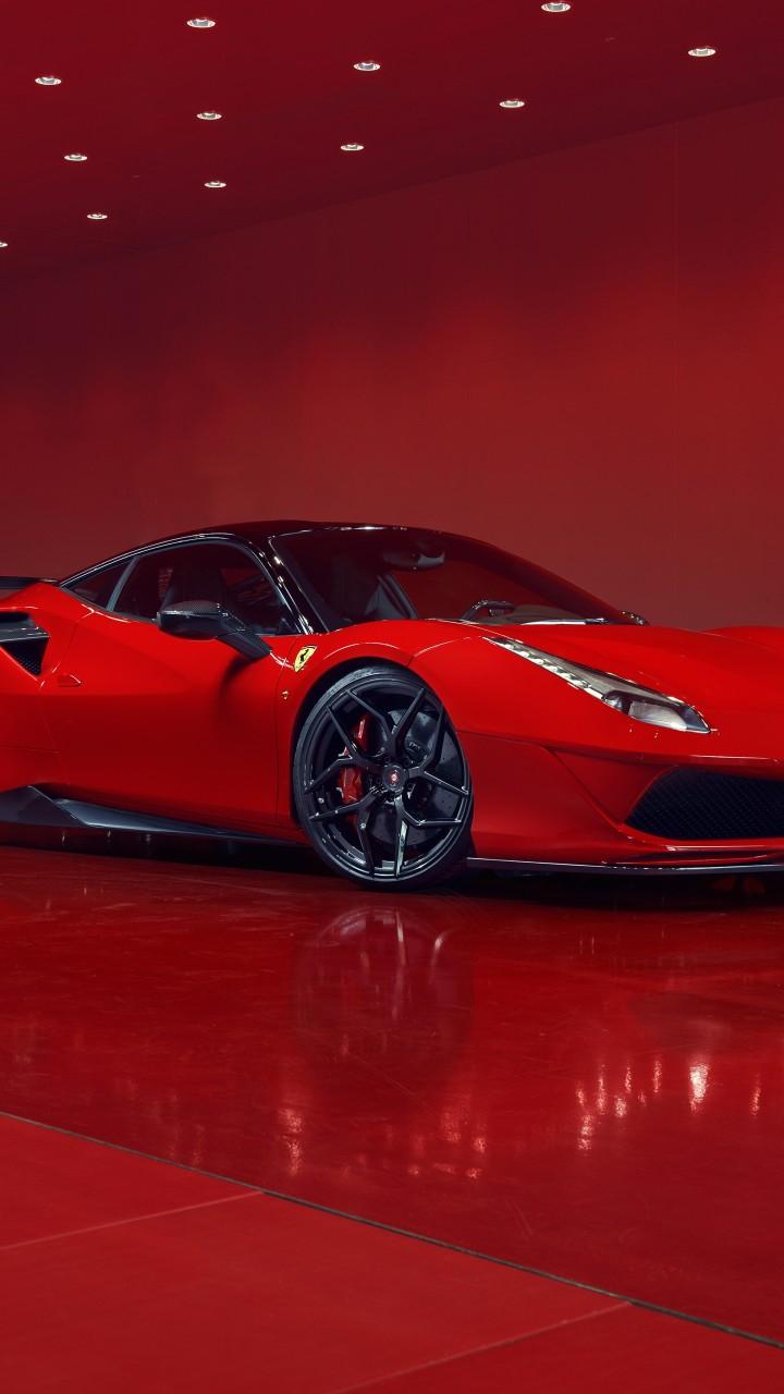 ferrari 488 gtb red supercars 1 - Fondos de pantalla de Ferrari
