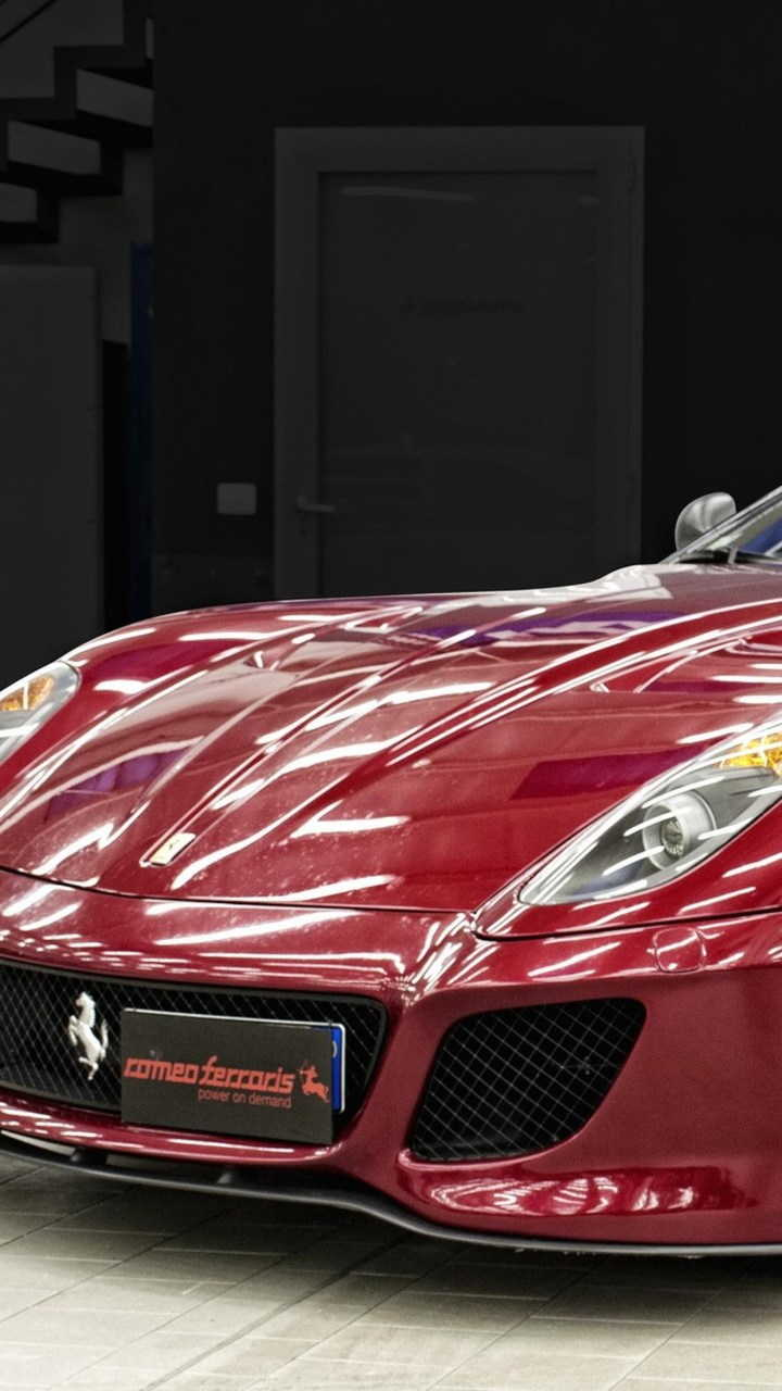 ferrari 599 gto 720x1280 - Fondos de pantalla de Ferrari