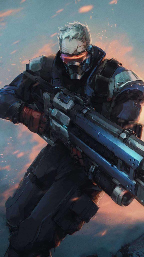 fondos de pantalla de overwatch 25 576x1024 - Fondos de Pantalla de Videojuegos de Guerra