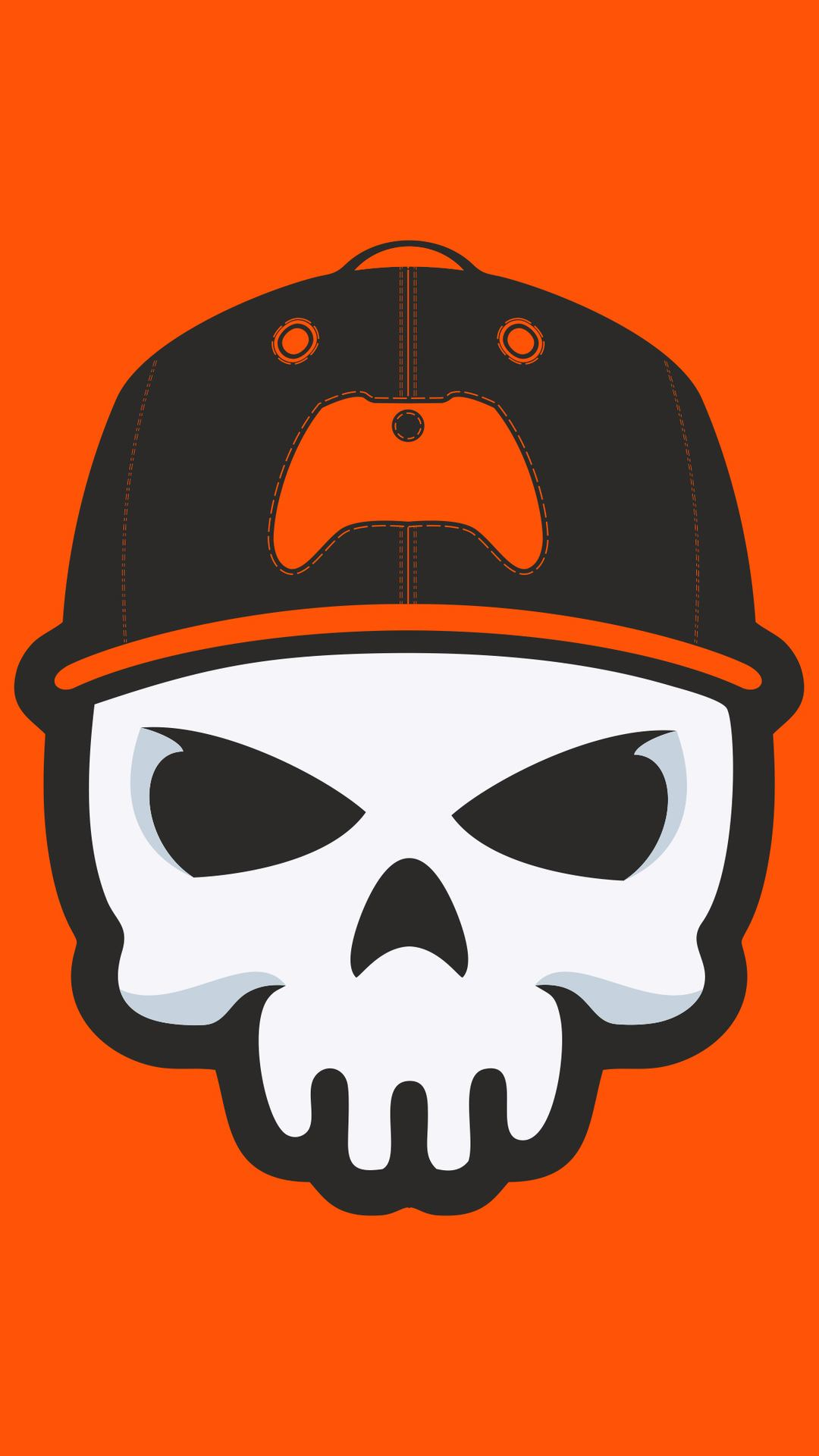 gamer skull minimal 4k hx 1080x1920 - Pack de Fondos de Pantalla Minimalistas (+100 Imagenes)