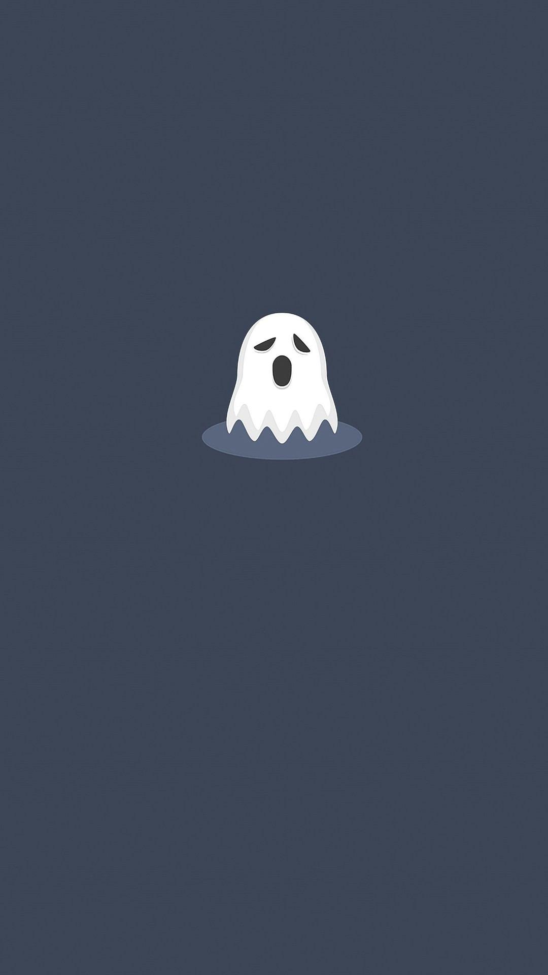 ghost minimal 4k l7 1080x1920 - Pack de Fondos de Pantalla Minimalistas (+100 Imagenes)
