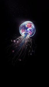 jellyfish minimalist 4k js 1080x1920 169x300 - Pack de Fondos de Pantalla Minimalistas (+100 Imagenes)