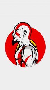 kratos minimal art 4k iu 1080x1920 169x300 - Pack de Fondos de Pantalla Minimalistas (+100 Imagenes)