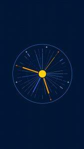 minimalist clock 5k pd 1080x1920 169x300 - Pack de Fondos de Pantalla Minimalistas (+100 Imagenes)