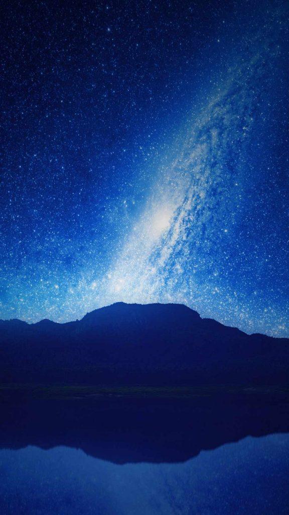 mountains starry sky milky way night 119973 1080x1920 576x1024 - Fondos de Pantalla de Cielo de noche