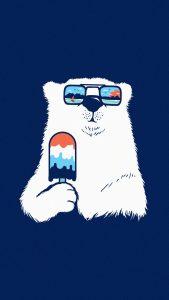 polar bear minimal 4k th 1080x1920 169x300 - Pack de Fondos de Pantalla Minimalistas (+100 Imagenes)