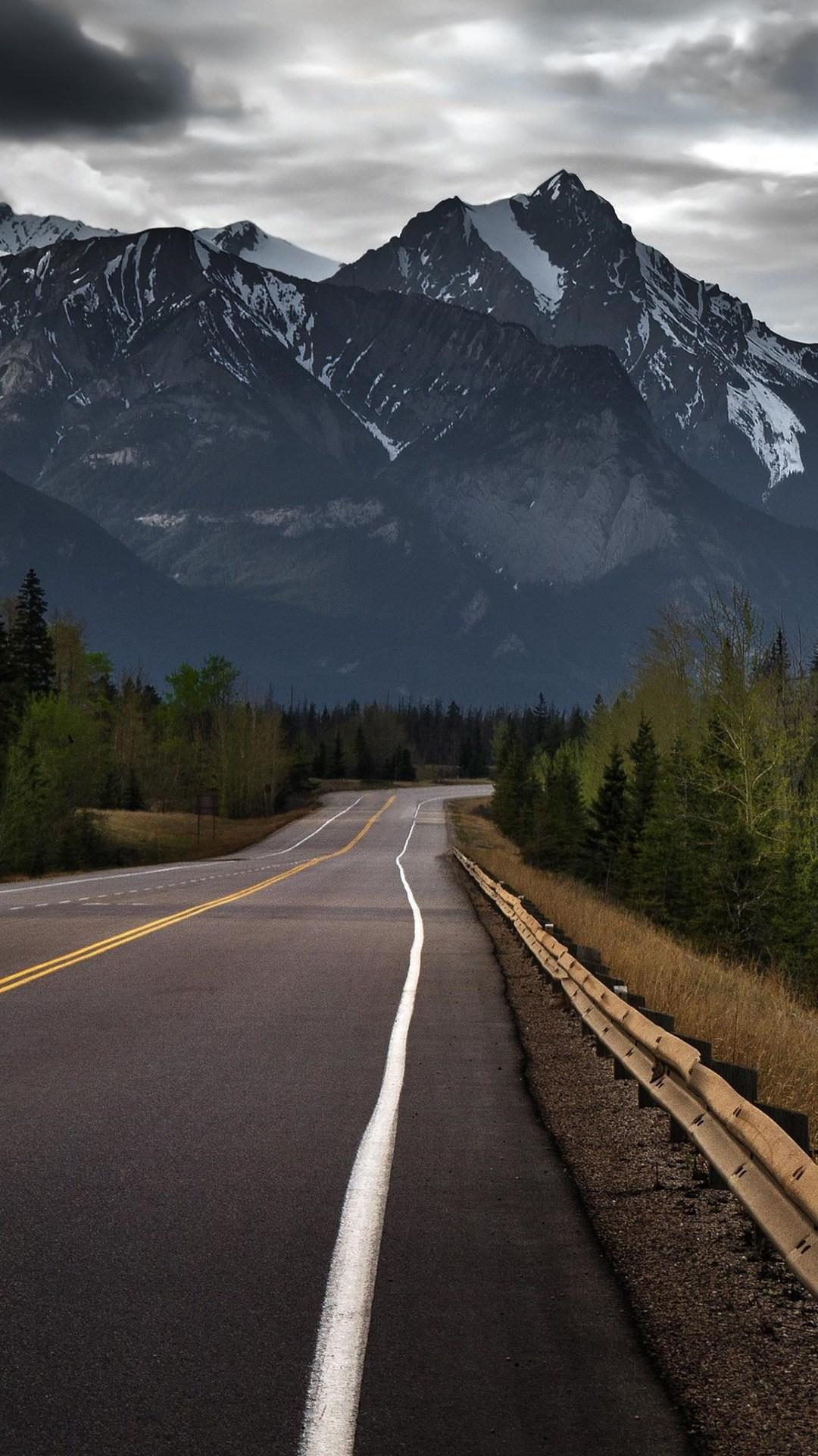road to mountains hd 1080x1920 1 - Pack de Fondos de Pantalla de Montañas