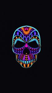skull dark minimal 4k g3 1080x1920 169x300 - Pack de Fondos de Pantalla Minimalistas (+100 Imagenes)