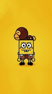 spongebob squarepants 4k 4c 1080x1920 169x300 - Pack de Fondos de Pantalla Minimalistas (+100 Imagenes)