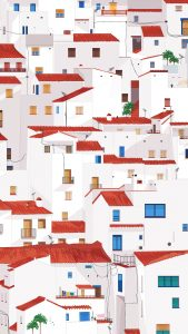 white houses minimal art 4k 30 1080x1920 169x300 - Pack de Fondos de Pantalla Minimalistas (+100 Imagenes)