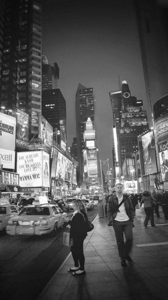 457194 new york wallpaper black and white 576x1024 - 40 Fondos de pantalla Oscuros