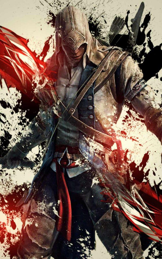 """Assassins Creed III Android Wallpaper 640x1024 - 40 Fondos de Pantalla de """"Assassins creed"""""""