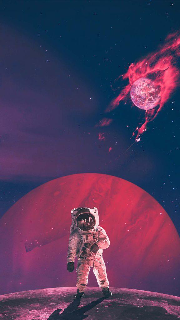 Man in space 576x1024 - 40 Fondos de Pantalla de el Espacio