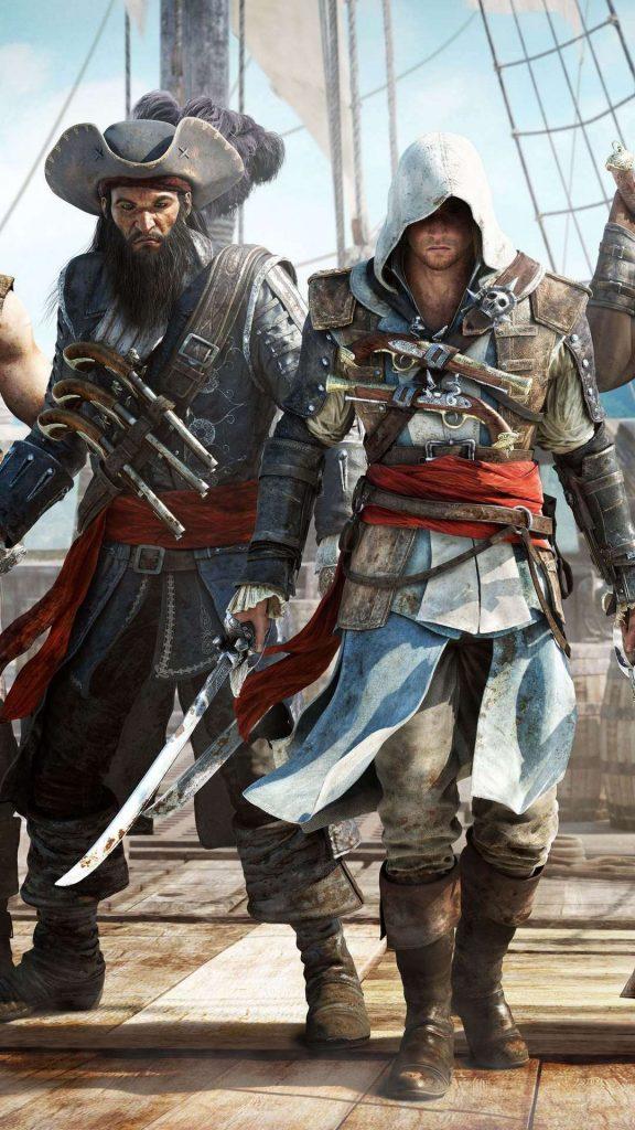 """assassins creed black flag pirates 114100 1080x1920 576x1024 - 40 Fondos de Pantalla de """"Assassins creed"""""""