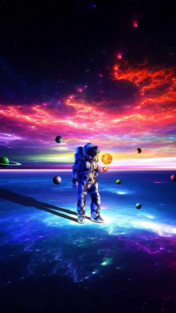 cosmonaut astronaut space suit 137404 1080x1920 576x1024 - 40 Fondos de Pantalla de el Espacio