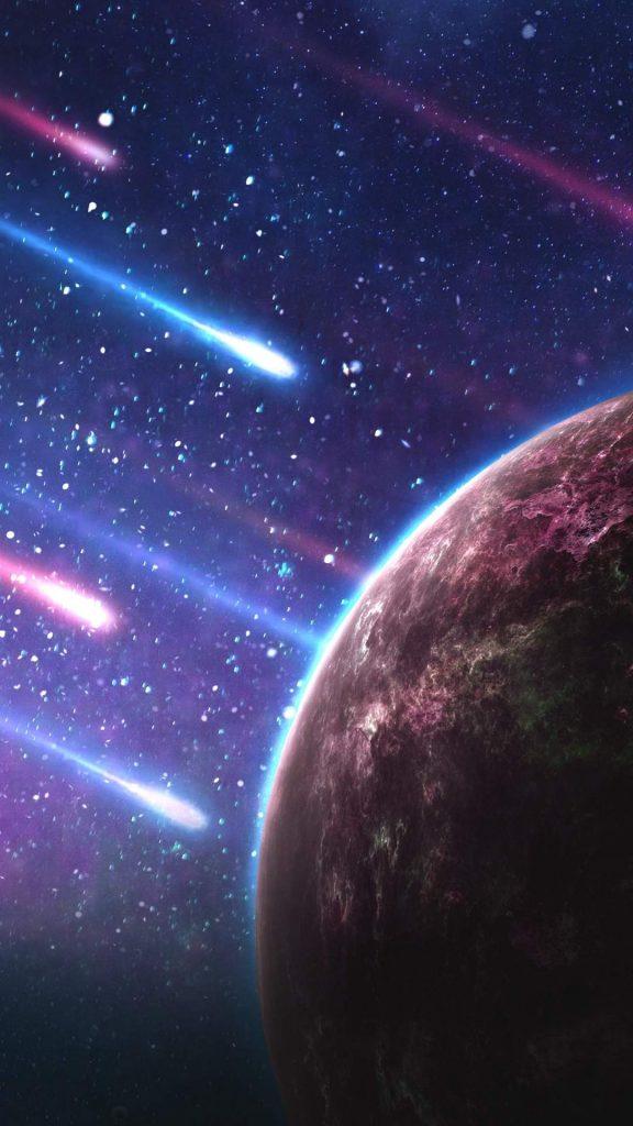 planet meteorites space galaxy 116921 1080x1920 576x1024 - 40 Fondos de Pantalla de el Espacio
