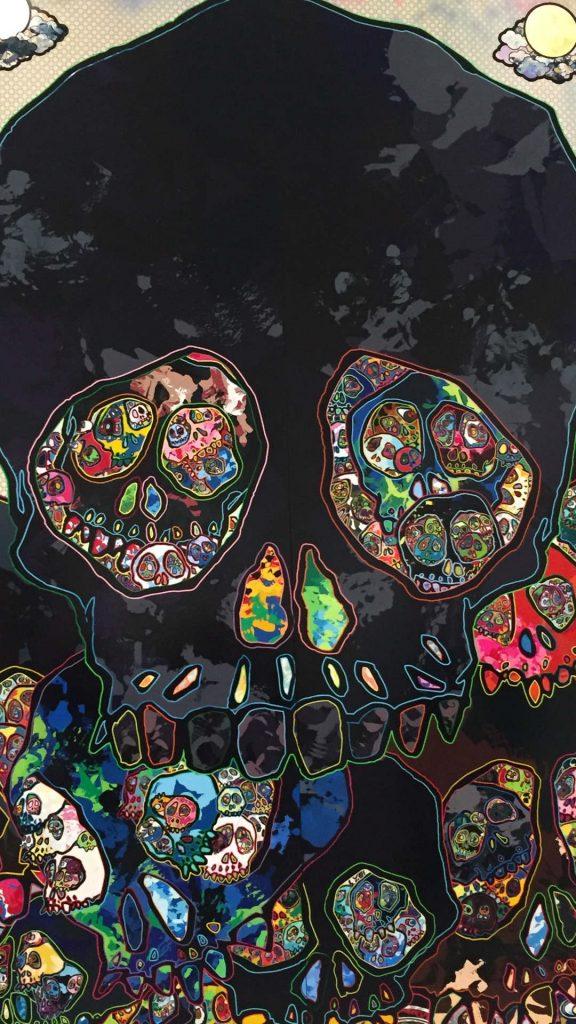 skull art skulls 121799 1080x1920 576x1024 - 40 Fondos de Pantalla de Craneos