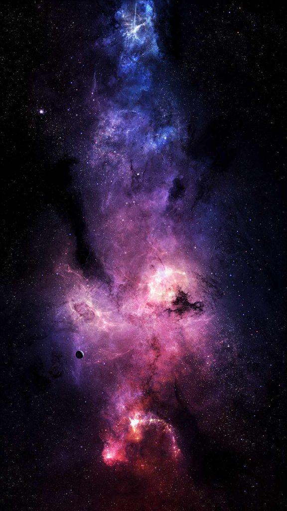 starry sky space stars 132298 1080x1920 576x1024 - 40 Fondos de Pantalla de el Espacio