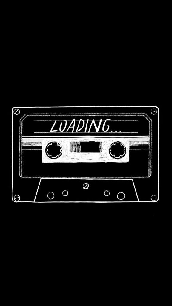 audio cassette minimalist ec 1080x1920 1 576x1024 - 27 Fondos de Pantalla Negros para ahorrar bateria