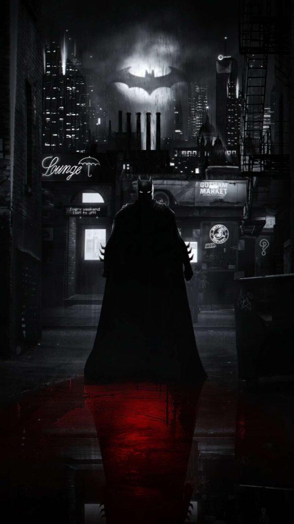 batman alley 4k 0k 1080x1920 1 576x1024 - 27 Fondos de Pantalla Negros para ahorrar bateria