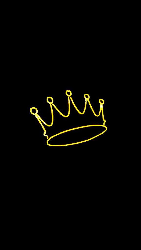 crown 576x1024 - 27 Fondos de Pantalla Negros para ahorrar bateria