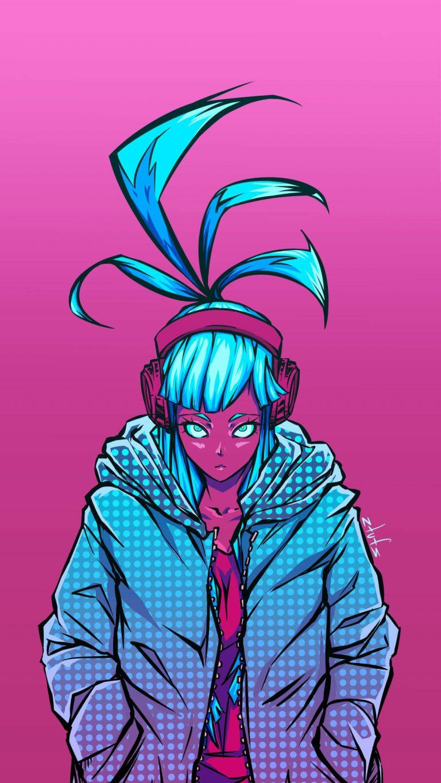 cyberpunk pink 4k tc 1080x1920 1 768x1365 - +84 Fondos de Pantallas femeninos (para chicas)