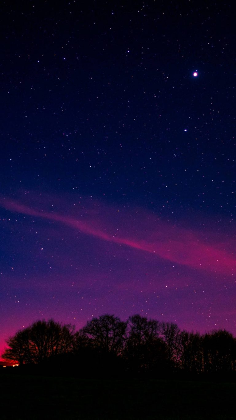 minimal night pink aurora long exposure 5k oa 1080x1920 1 768x1365 - +84 Fondos de Pantallas femeninos (para chicas)