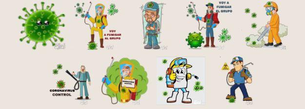 otros - Descarga los Stickers de Coronavirus para WhatsApp Gratis!