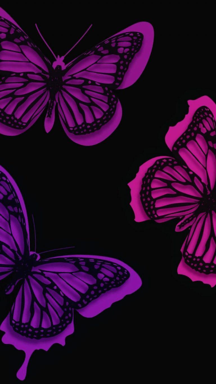 pink butterflies artistic 1080x1920 1 768x1365 - +84 Fondos de Pantallas femeninos (para chicas)
