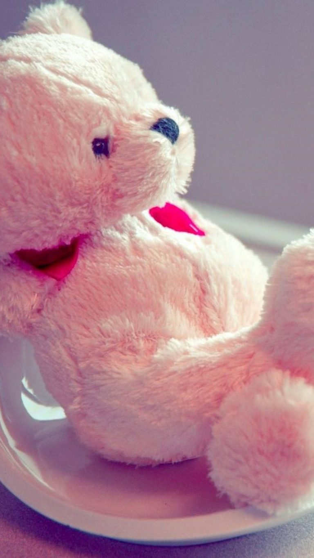 pink teddy bear image 1080x1920 1 768x1365 - +84 Fondos de Pantallas femeninos (para chicas)