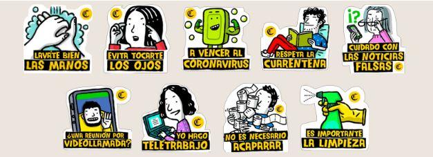 recomendaciones - Descarga los Stickers de Coronavirus para WhatsApp Gratis!