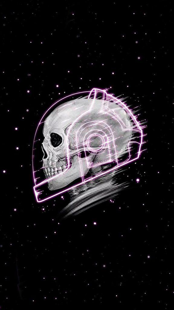 skull stars 4k lh 1080x1920 1 576x1024 - 27 Fondos de Pantalla Negros para ahorrar bateria