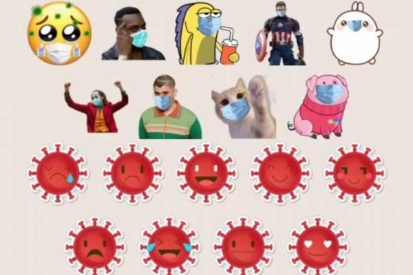 Descarga los Stickers de Coronavirus para WhatsApp Gratis!