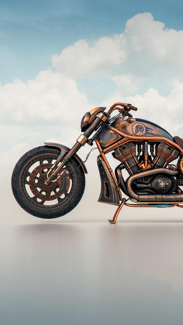 the copper rider qx 1080x1920 1 768x1365 - Los Mejores Fondos de Pantalla de Motocicletas