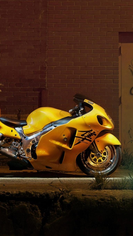 yellow hayabusa 4k 7m 1080x1920 1 768x1365 - Los Mejores Fondos de Pantalla de Motocicletas