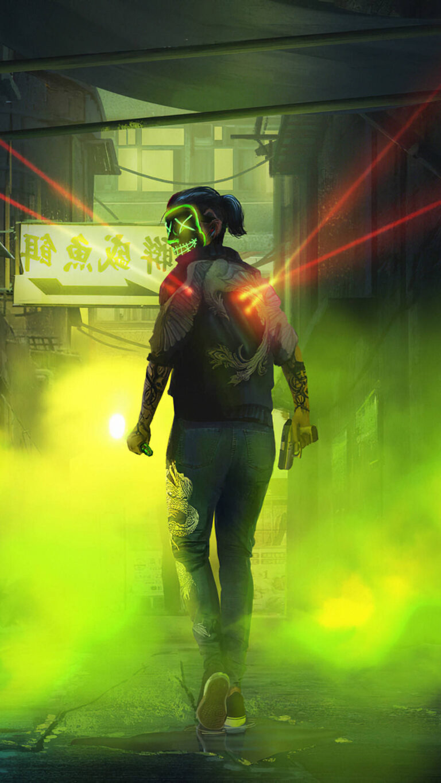 mask anonymus smoke 4k af 1080x1920 1 768x1365 - 25 Fondos de Pantalla Neón que harán ver tu pantalla increible