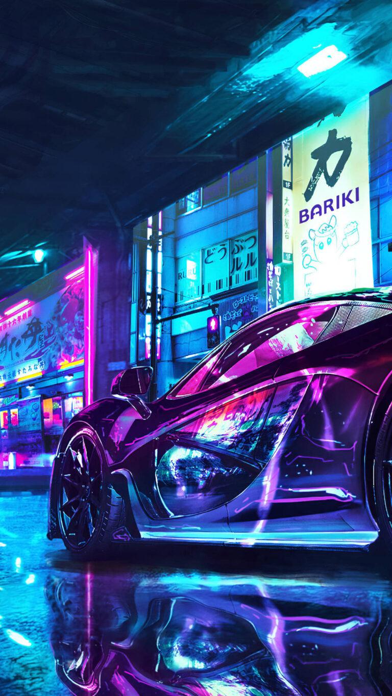 mclaren cyberpunk chrome color 4k th 1080x1920 1 768x1365 - 25 Fondos de Pantalla Neón que harán ver tu pantalla increible