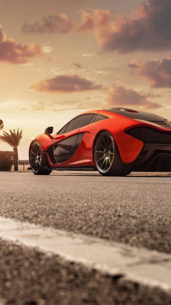 red mclaren p1 4k uy 1080x1920 1 576x1024 - 50 Fondos de pantalla de McLaren para android