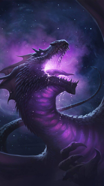dragon roar 5k q6 1080x1920 1 768x1365 - Fondos de pantalla Full Color, Neón y Psicodélicos