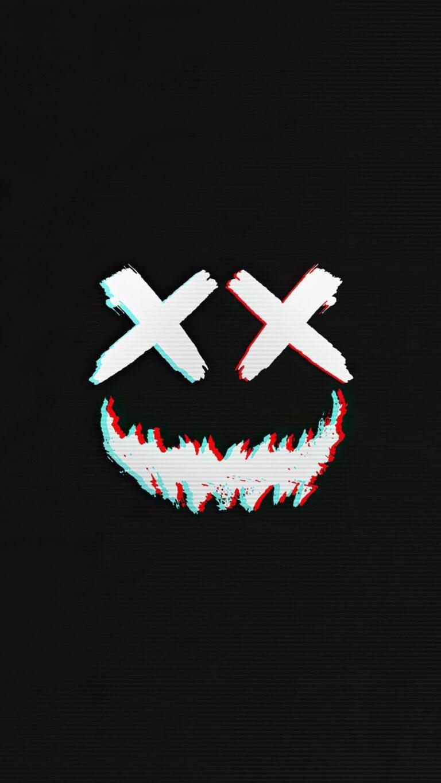 smile vector dark 4k c4 1080x1920 1 768x1365 - Fondos de pantalla Full Color, Neón y Psicodélicos