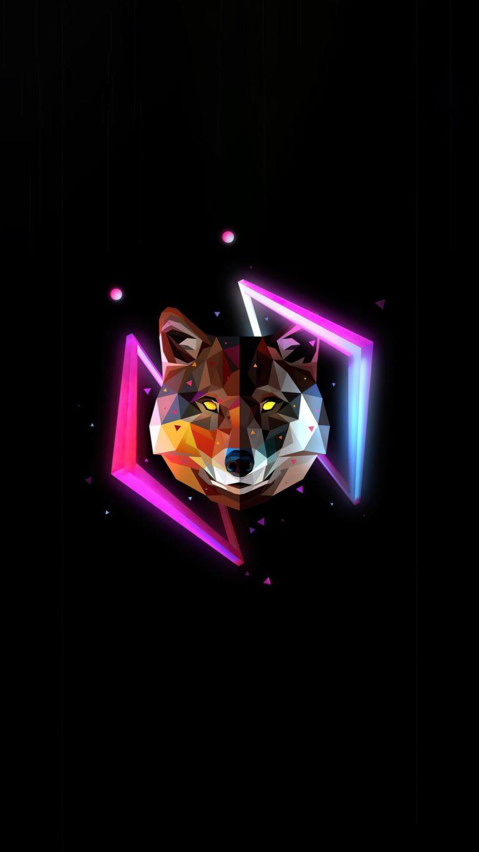 wolf minimal justin maller 4k at 1080x1920 1 768x1365 - Fondos de pantalla Full Color, Neón y Psicodélicos