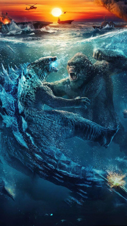 godzilla vs kong chinese poster 5k 31 1080x1920 1 768x1365 - Fondos de pantalla Godzilla vs. Kong para celular